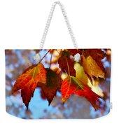 Fall In Maple Ridge Weekender Tote Bag
