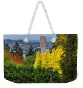 Fall In Portland Or Weekender Tote Bag