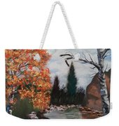 Fall In The Mountains Weekender Tote Bag