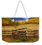 Fall In The Rockies 2 Weekender Tote Bag
