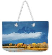 Fall At The Oxbow Weekender Tote Bag