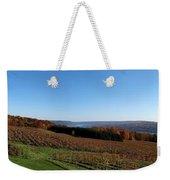 Fall In The Vineyards Weekender Tote Bag