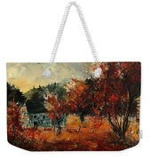 Fall In Vivy Weekender Tote Bag