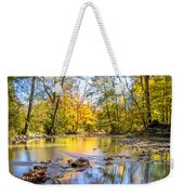 Fall In Wisconsin Weekender Tote Bag by Steven Santamour