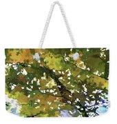 Fall In Woods Weekender Tote Bag
