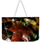 Fall Into Fall Weekender Tote Bag