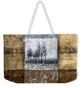 Fall Into Winter Weekender Tote Bag