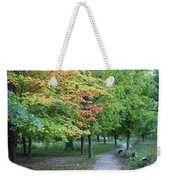 Fall Is Arriving Weekender Tote Bag