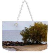 Fall Lake Tree Weekender Tote Bag