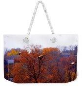 Fall Landing Weekender Tote Bag