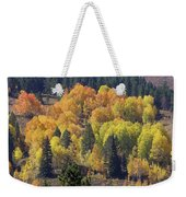 Fall Lands In Western Wyoming Weekender Tote Bag