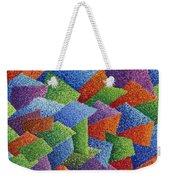 Fall Leaves On Grass Weekender Tote Bag by Sean Corcoran