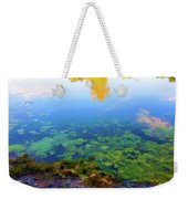 Barely Touching The Surface Of The Water Weekender Tote Bag