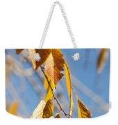 Fall Leaves Study 3 Weekender Tote Bag