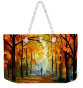 Fall Weekender Tote Bag