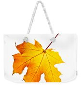 Fall Maple Leaf Weekender Tote Bag