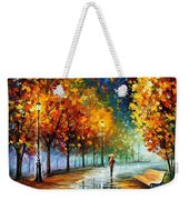 Fall Marathon Weekender Tote Bag