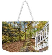 Fall Morning Weekender Tote Bag