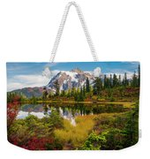 Fall Mountain View Weekender Tote Bag