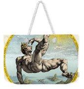 Fall Of Icarus, Greek Mythology Weekender Tote Bag