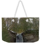 Fall Of Ice Weekender Tote Bag