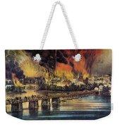 Fall Of Richmond, 1865 Weekender Tote Bag