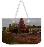 Fall On The Llano Weekender Tote Bag