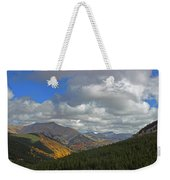 Fall On The Pass Weekender Tote Bag