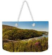 Fall On The Shenandoah River - West Virginia Weekender Tote Bag