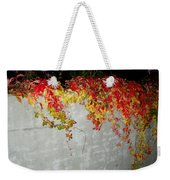Fall On The Wall Weekender Tote Bag