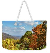 Fall Overlook Weekender Tote Bag
