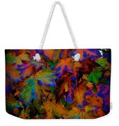 Fall Painting By Mother Nature Weekender Tote Bag
