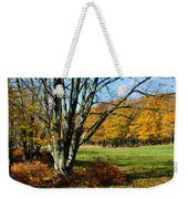 Fall Pasture Weekender Tote Bag