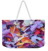 Fall Purples  Weekender Tote Bag