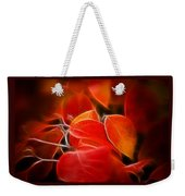 Fall Red 6675 Weekender Tote Bag