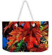 Fall Reds Weekender Tote Bag
