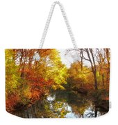 Fall Reflected Weekender Tote Bag