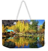 Fall Reflections At The Double Eagle Weekender Tote Bag