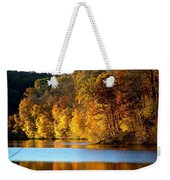 Fall Reflections Of Indiana Weekender Tote Bag
