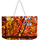 Fall Reflextion Weekender Tote Bag