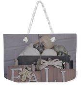 Fall S/c Weekender Tote Bag