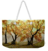 Fall Scene Weekender Tote Bag