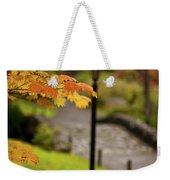 Fall Serenity Weekender Tote Bag