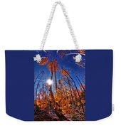 Fall Sun And Trees Weekender Tote Bag