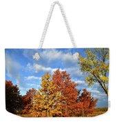 Fall Sunrise On Hackmatack Nwr Oaks Weekender Tote Bag
