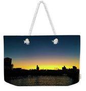 Fall Sunset In Nj Weekender Tote Bag