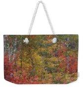 Fall Tapestry Weekender Tote Bag