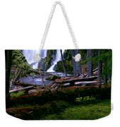 Fall Through Weekender Tote Bag