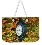 Fall Time Weekender Tote Bag