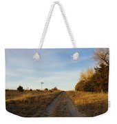 Fall Time On Old Trail Weekender Tote Bag